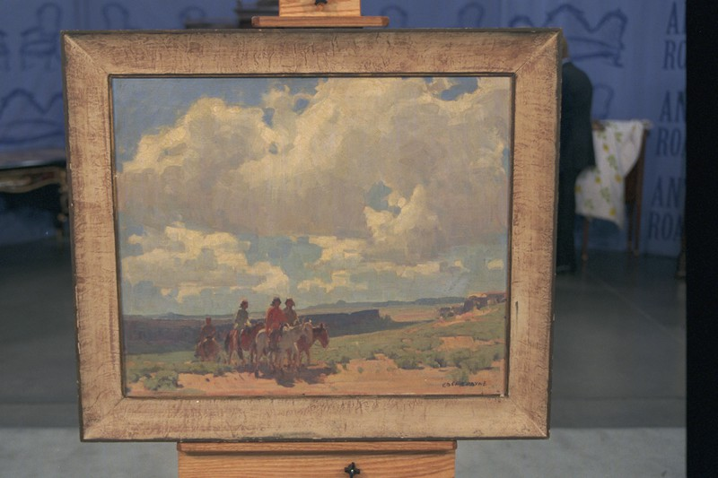 Edgar Alwin Payne Painting, ca. 1925 | Antiques Roadshow | PBS