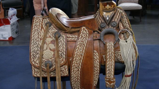 Mexican Charro Saddle, ca. 1940 | Antiques Roadshow | PBS