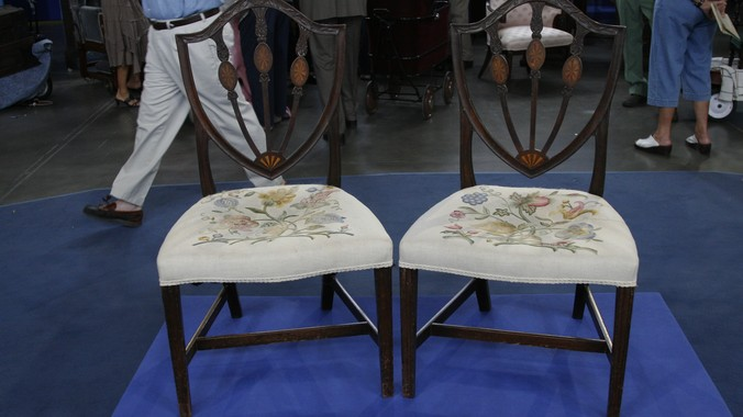 Support ... - William Fiske Federal Side Chairs, Ca. 1795 Antiques Roadshow PBS