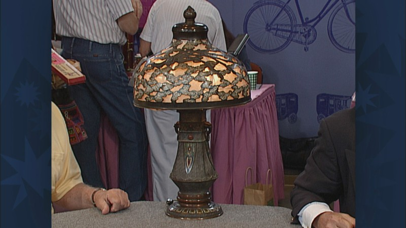 Japanese Champlev 233 Lamp Antiques Roadshow Pbs