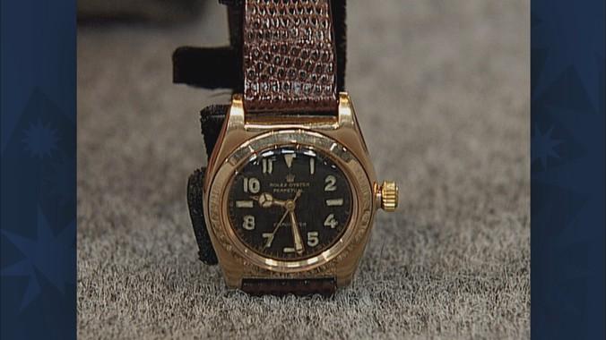 1944 Rolex Bubbleback Watch | Antiques Roadshow | PBS