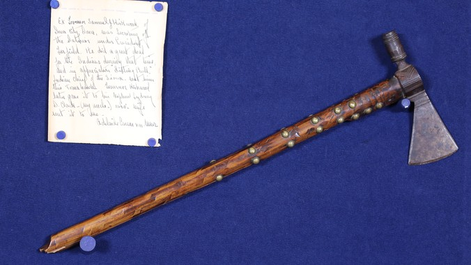 Presentation Pipe Tomahawk, ca  1875 | Antiques Roadshow | PBS