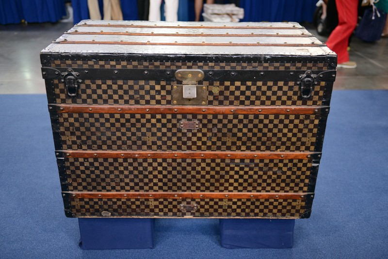Louis Vuitton Steamer Trunk, ca. 1890 - Appraisals Antiques Roadshow PBS