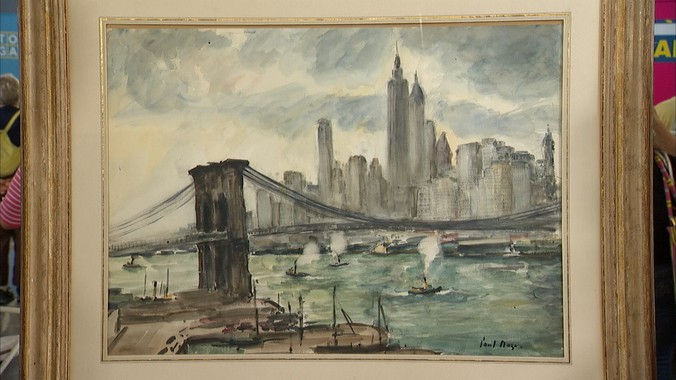 Paul Maze Watercolor Ca 1939 Antiques Roadshow Pbs