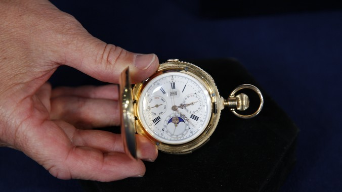 18k Gold Pocket Watch Ca 1885 Antiques Roadshow Pbs