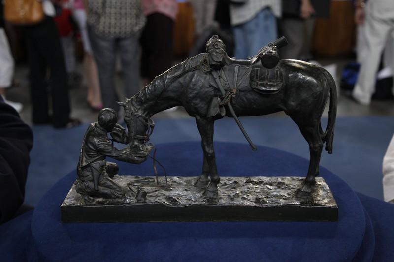 Charles Schreyvogel Bronze Sculpture Ca 1903 Antiques