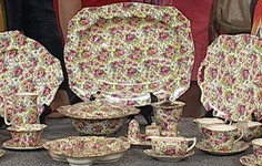 Royal Winton Chintz Dinnerware Sold!