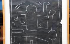 Related | See Keith Haring's subway drawings
