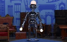 Related Appraisal | See another  Highlight Torino Chrome Robot Lamp