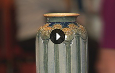Bonus Video | How to clean a Newcomb Cottery Vase