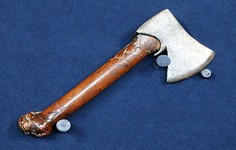 Highlight | 17th C. Axe with Fruitwood Handle