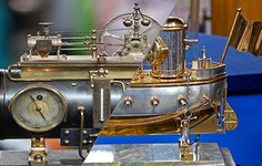 Related | French Industrial Steam Boiler Clock, ca. 1885