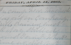 UPDATE | 1865 Civil War Prison Guard Diary