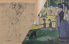 Article | Georges Seurat: From Pen to Pointillism