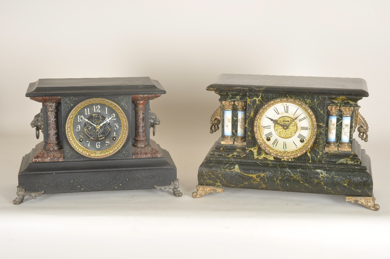 Value of old mantel clocks