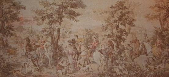 value of antique tapestries