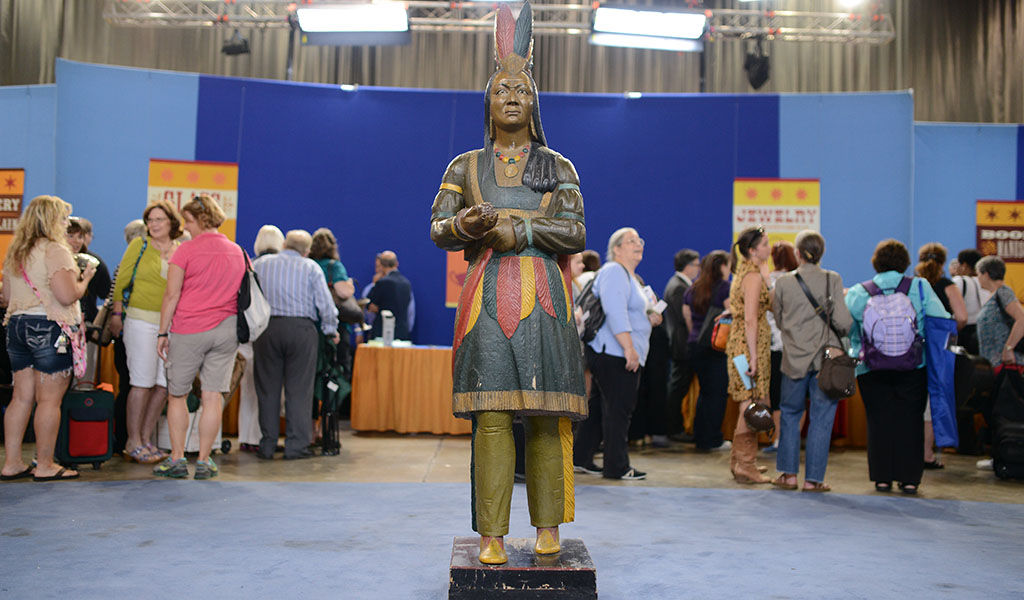 Cigar Store Indians Trading On Stereotypes Antiques Roadshow Pbs