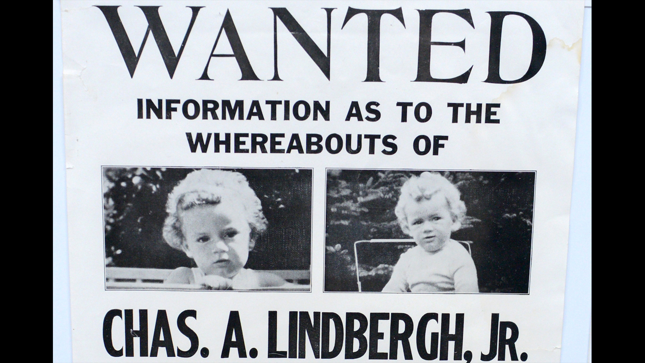 charles lindbergh kidnapping On march 1, 1932, charles augustus lindbergh jr, 20-month-old son of aviator  charles lindbergh and anne morrow lindbergh, was abducted from his home.
