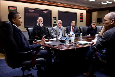 President Obama Briefed on Giffords Shooting