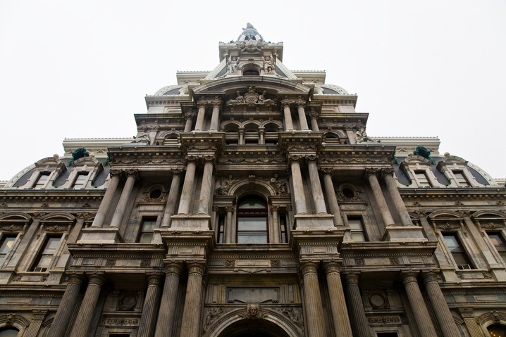Photo of Philadelphia City Hall via Flickr Creative Commons by user Th.omas*