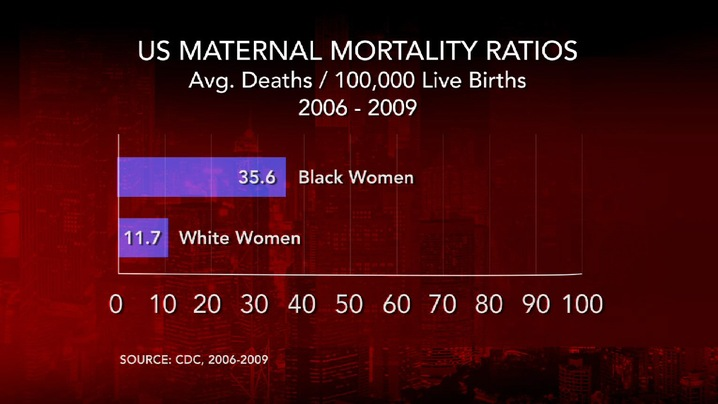 US Maternal Mortality Rate by Race