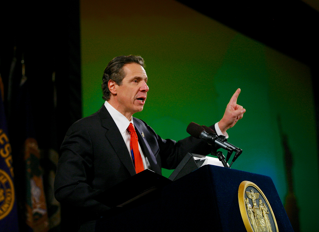 New York Governor Andrew Cuomo. Photo by Getty Images