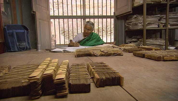 Palm Leaf Manuscripts from The Story of India
