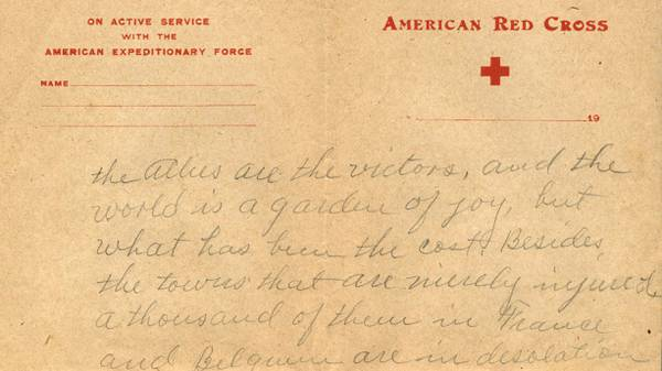 Letters from The Great War