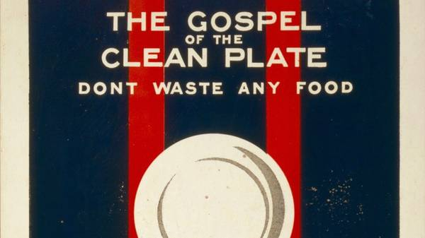 The Gospel of the Clean Plate
