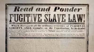 The Fugitive Slave Act poster image