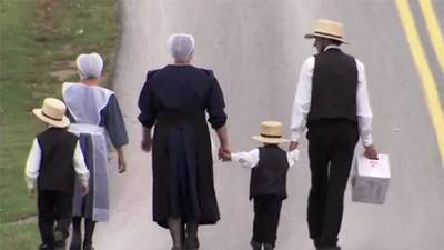 The Amish: Trailer poster image