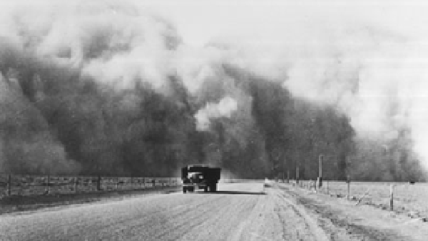 Making Surviving the Dust Bowl
