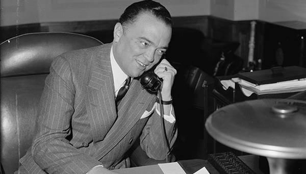 Biography:  J. Edgar Hoover