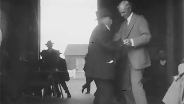 Henry Ford Gives Dance Lessons