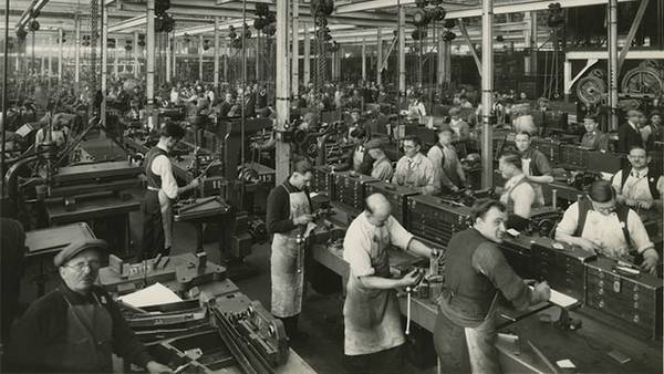 Working at Ford's Factory