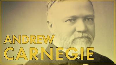 New | Andrew Carnegie: Man of Steel poster image