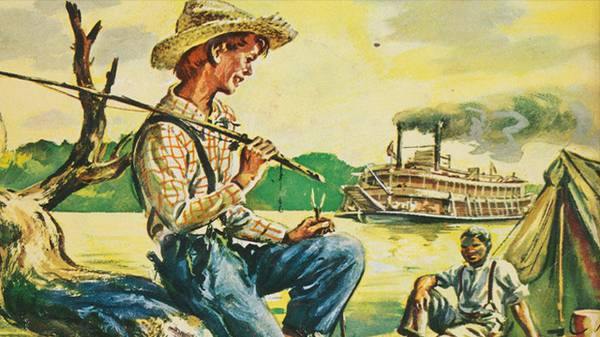BANNED: Adventures of Huckleberry Finn