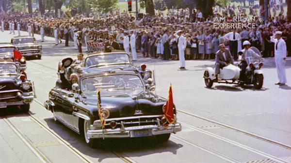 Khrushchev's Motorcade