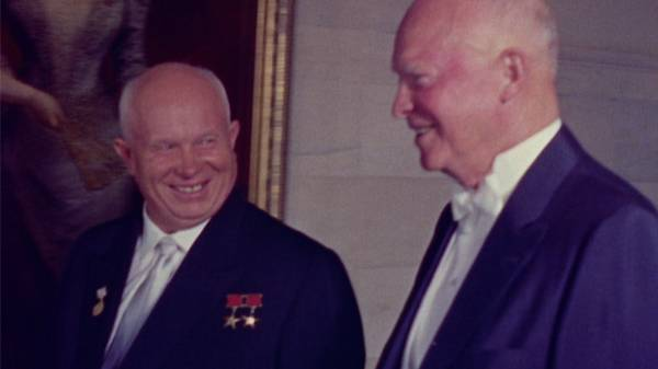Khrushchev Tours Washington
