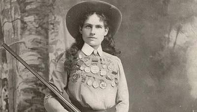 Biography: Annie Oakley poster image