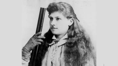 Annie Oakley Becomes a Movie Star poster image