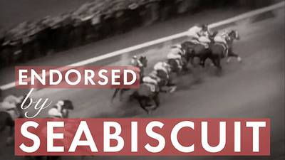 New | Endorsed by Seabiscuit poster image