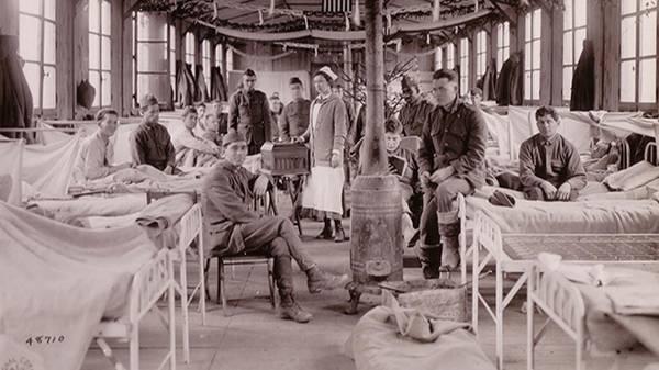 American Nurses in World WarI