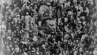 Theodore Roosevelt's Time in Office poster image