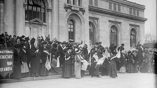 Wilson and Women's Suffrage