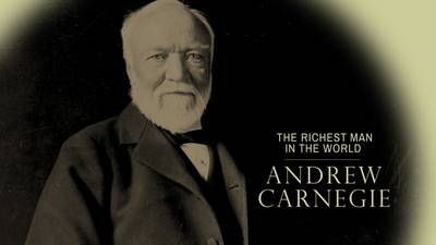 an analysis of the richest man in the world andrew carnegie Bill's den search this site  would declare to be the the world's richest man livesay considers andrew carnegie to personify for many americans the american dream .