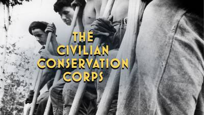 The Civilian Conservation Corps poster image
