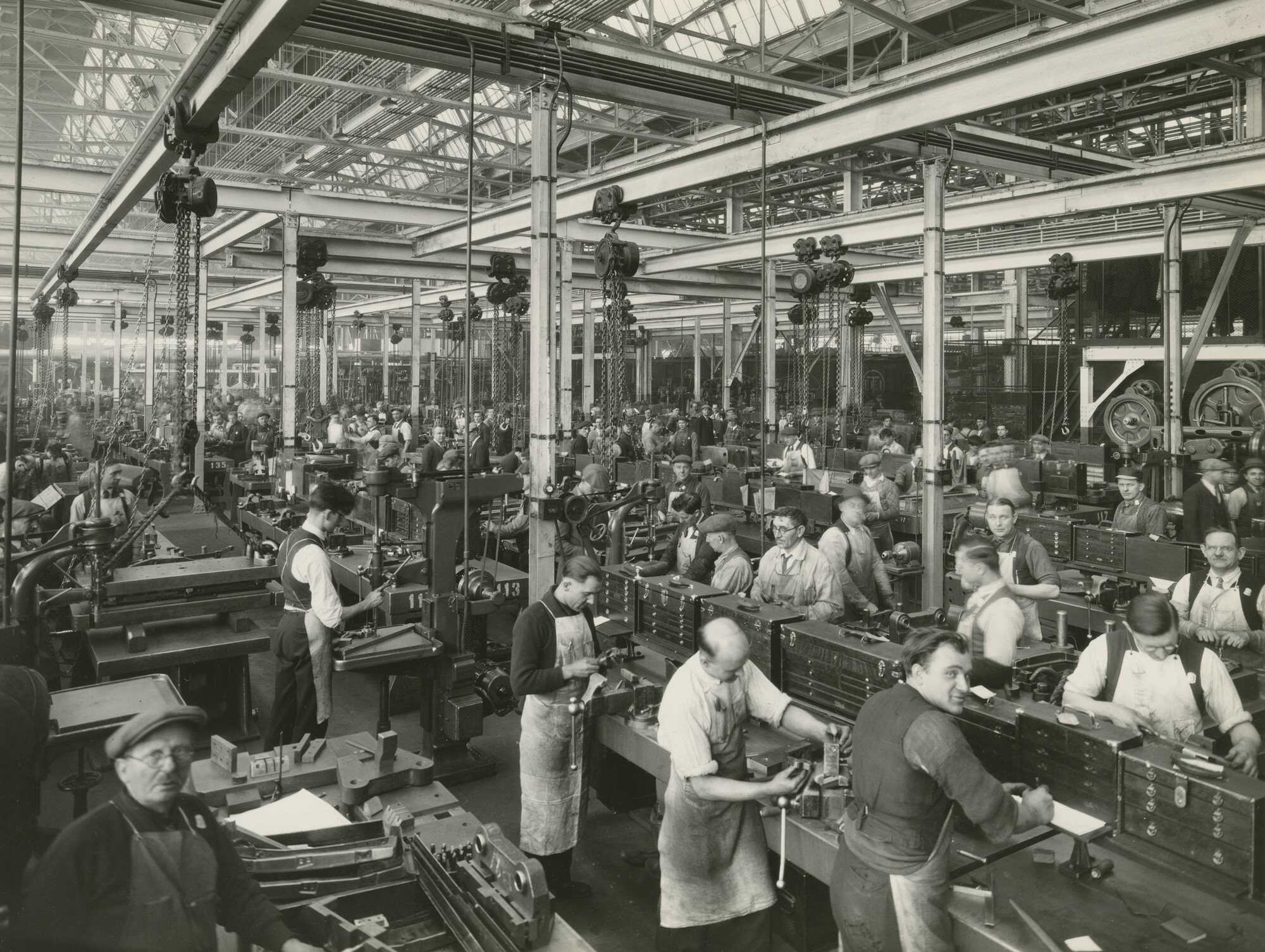 Workers At River Rouge Courtesy The Henry Ford Museum
