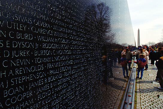 essay on the vietnam war memorial The vietnam war memorial on the national mall in washington, dc, stands out   the vietnam war memorial is a singular, long, black wall built into the ground,   disclaimer: any opinions present in this essay belong to the author and do not .