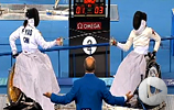 Video of 2008 Wheelchair Fencing gold medal match